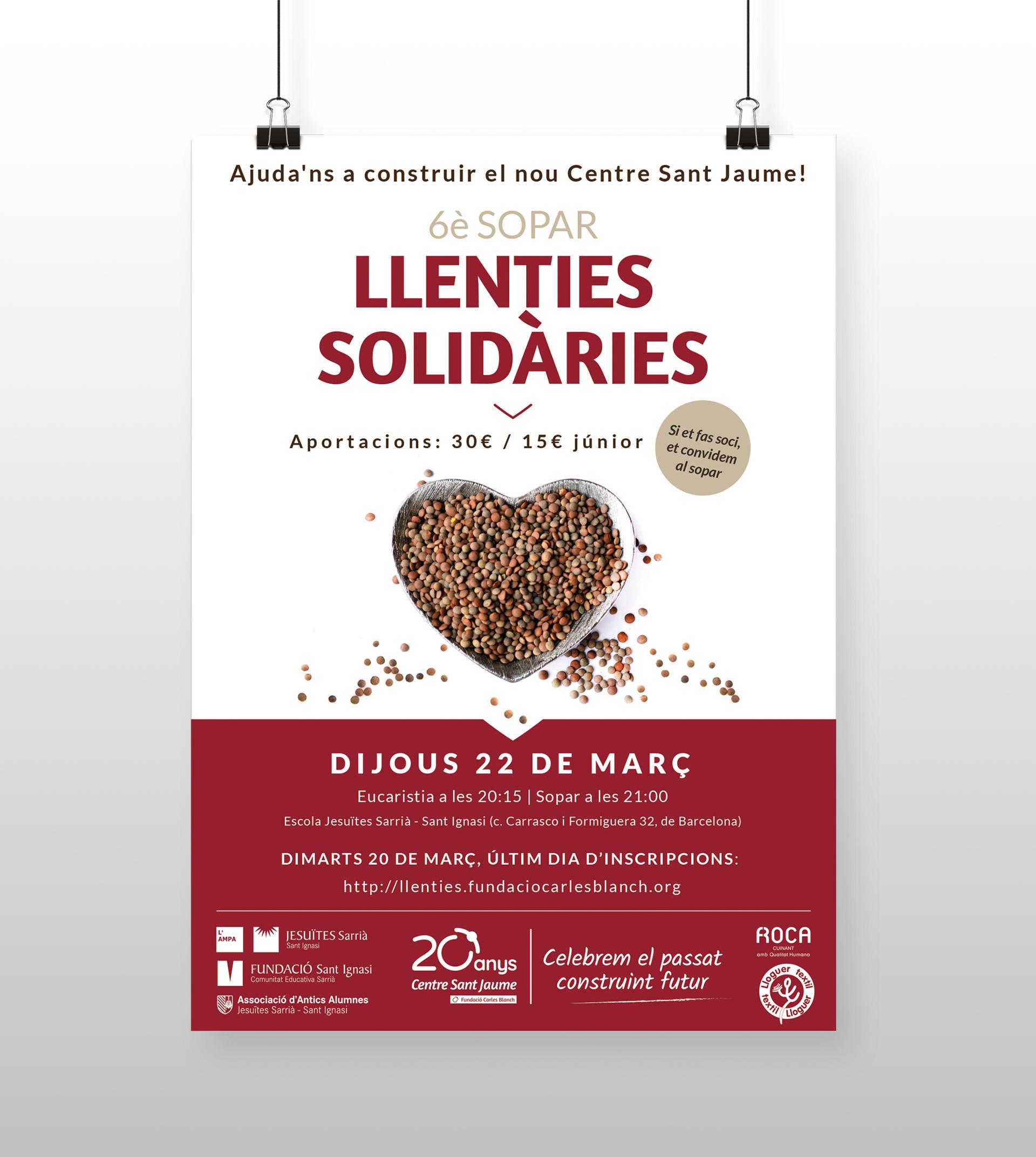 Llenties Solidàries 2018
